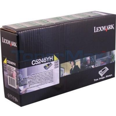 LEXMARK C524 RP TONER CART YELLOW HY GSA/TAA